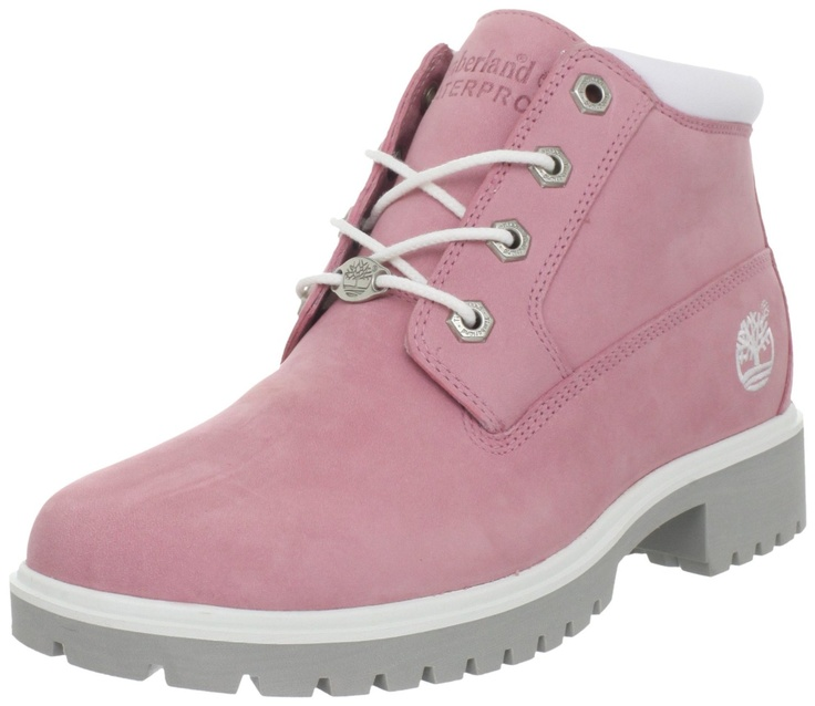 womens timberland pale pink timb nellie chukka double boots