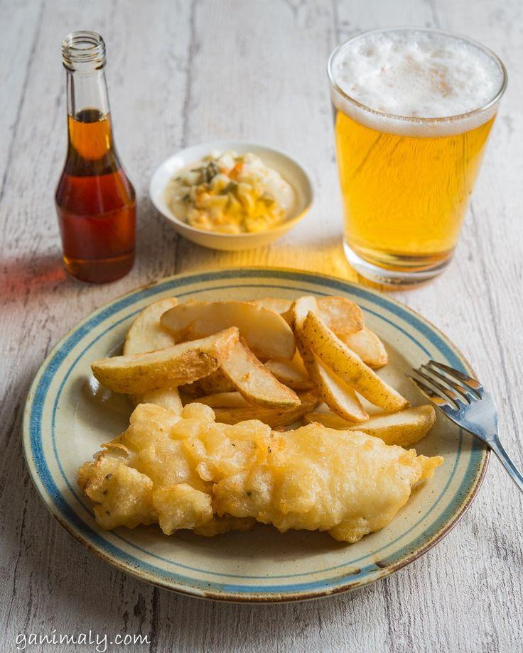 【レシピ|フィッシュアンドチップス】懐かしい!イギリスの味。