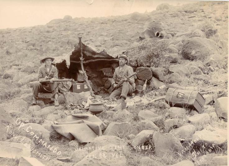 Boere op kommando in die omgewing van Ladysmith