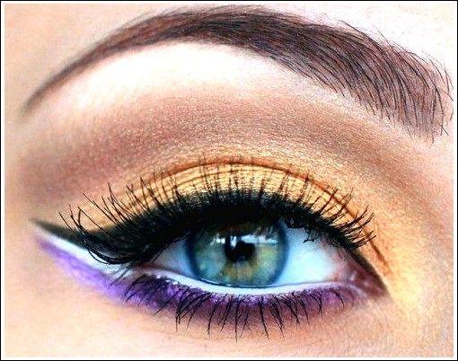 Schminke blaue Augen   – Schönheit