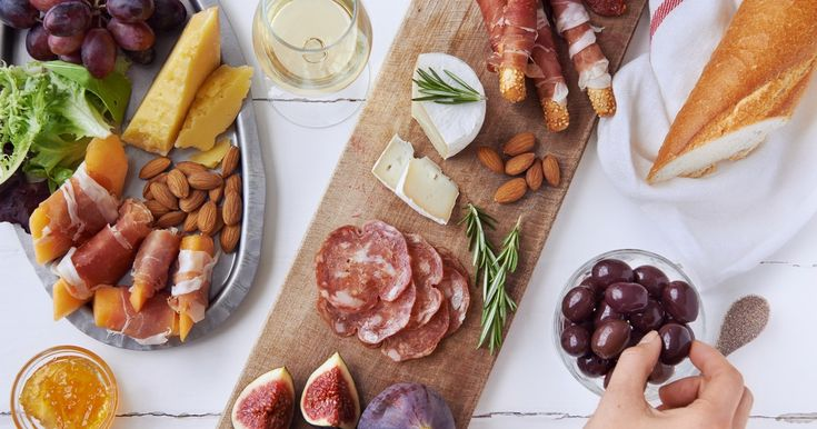 Don't Forget This One Crucial Thing To Create A Party-Worthy Charcuterie Platter