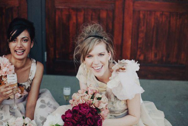 cute bridesmaid hair :)