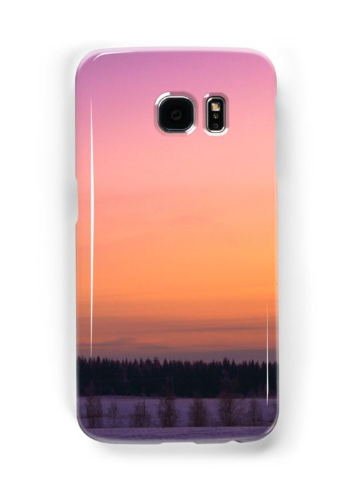 """My """"Winter sunset"""" photo products in #redbubble #photo #landscape #design #product #case #phone"""
