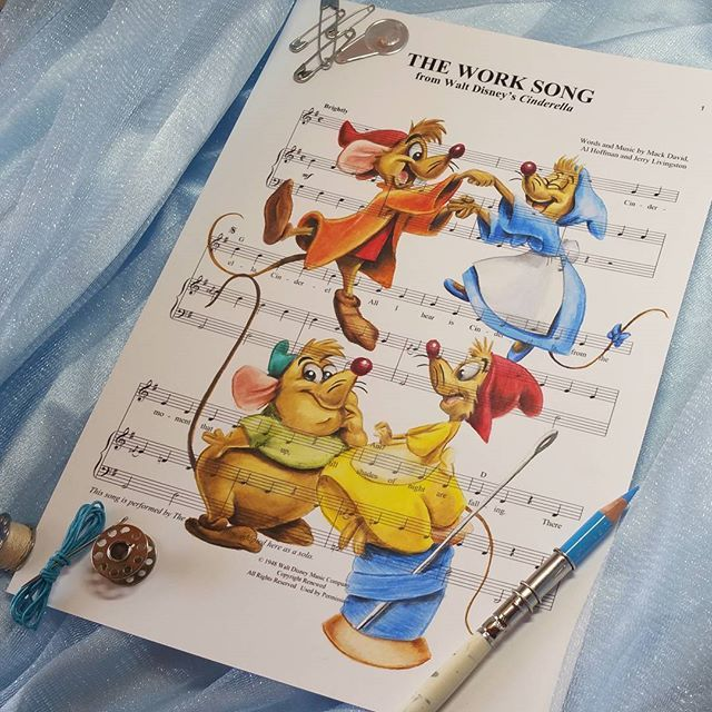 Beauty And The Beast Sheet Music With Lyrics: 26 Best Images About Ursula Doughty Art On Pinterest