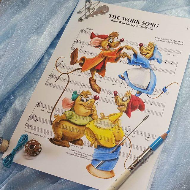 The work song  #cinderella #theworksong #disneycinderella #waltdisney…