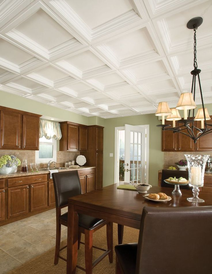 Beau Easy Elegance Coffer Easy Elegance Coffered Paintable X Panel 1280 By  Armstrong. Finished Basement One Day. Drop Ceilings Have Come A Long Way.