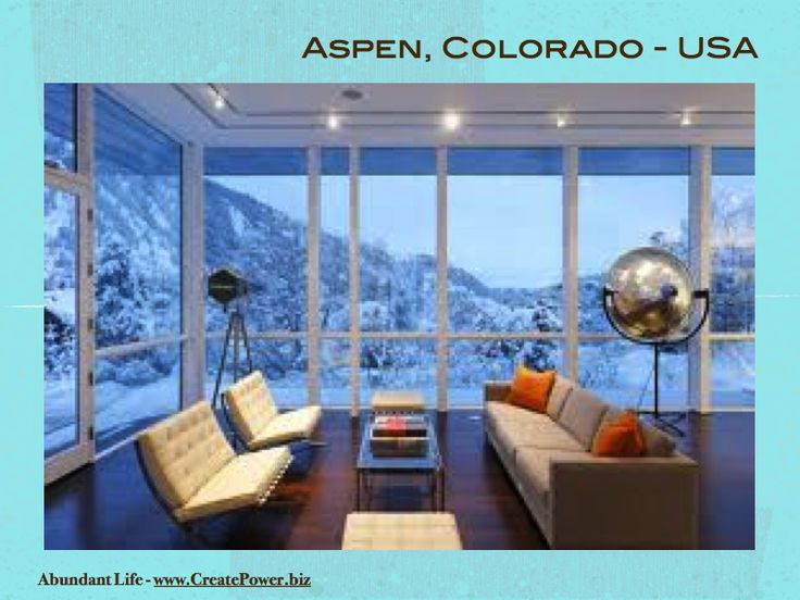 Exotic And Luxurious Holiday And Honeymoon Locations   Aspen, Colorado