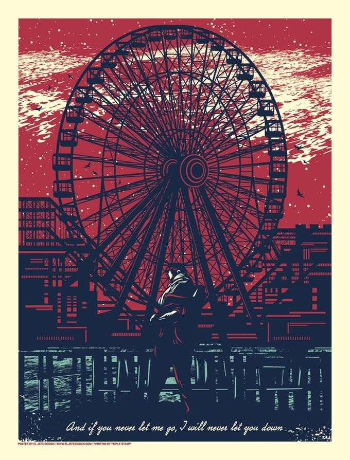 The Gaslight Anthem have awesome gig / band posters