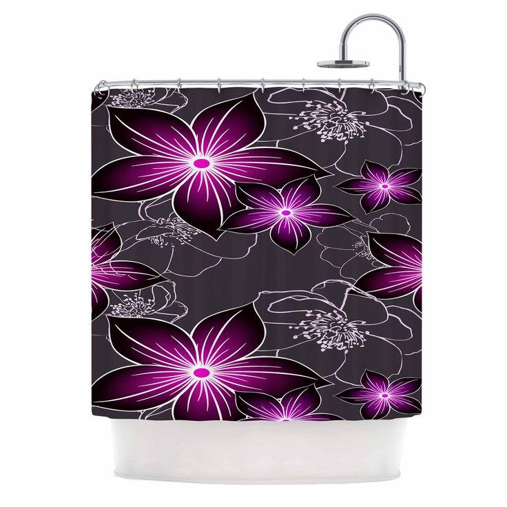 Best 25+ Purple Shower Curtains Ideas On Pinterest