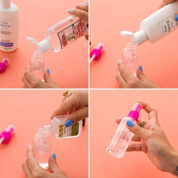 Make this face mist with only three ingredients. Diy