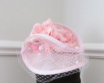 Pink Fascinator - Pink Wedding Fascinator - Racing Fascinator - Edit Listing - Etsy