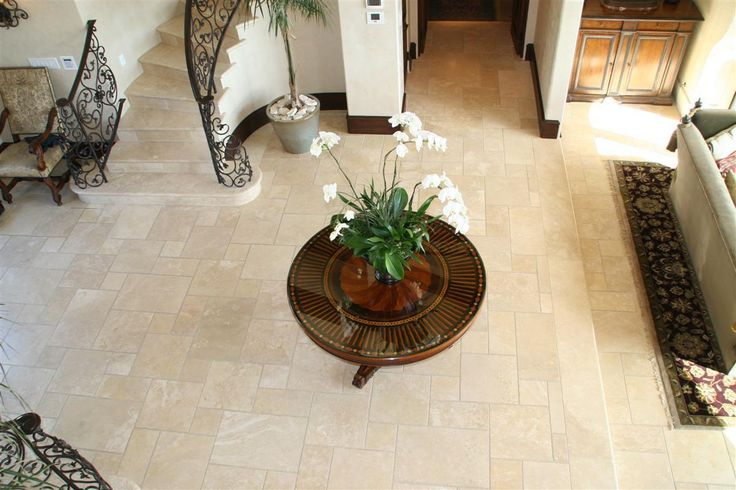 Macrostone International.  Stone: French Patterned Honed and Unfilled Travertine.  Have a look at our beautiful Travertine French Patterned honed and unfilled stone flooring.