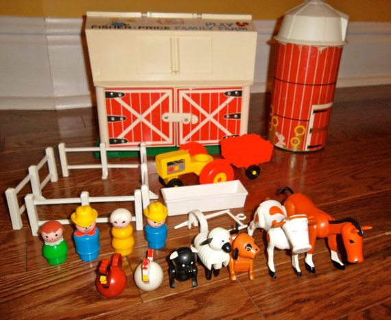 old fisher price toys