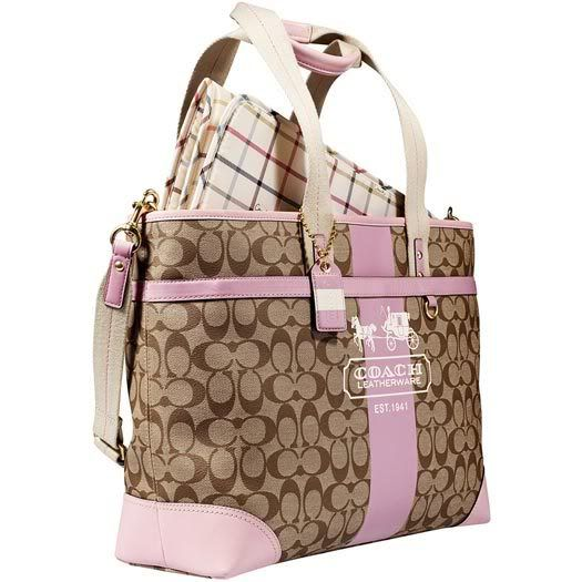 coach diaper bag - I don't think it's that unreasonable to want a coach diaper bag!