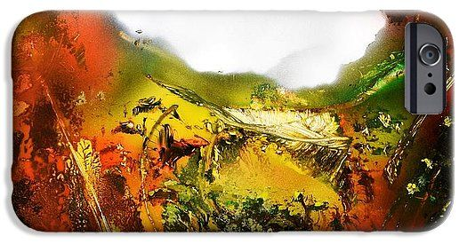 Golden Valley IPhone 6s Case Printed with Fine Art spray painting image Golden Valley by Nandor Molnar (When you visit the Shop, change the orientation, background color and image size as you wish)