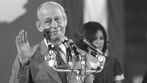 René Levesque.... after the 1980 referendum in Québec