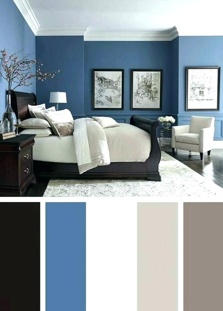 A selection of gorgeous bedroom designs that use grey as a. dark blue bedroom walls dark blue bedroom color schemes