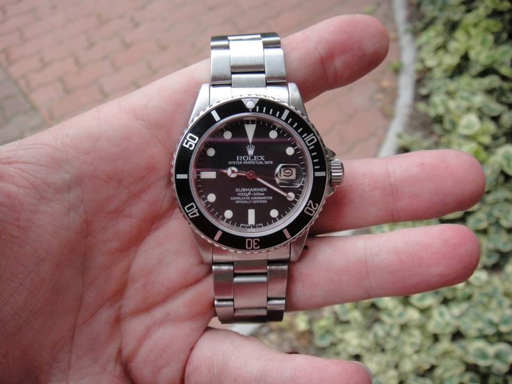 Perfect #Rolex #Submariner #16800 from 1980