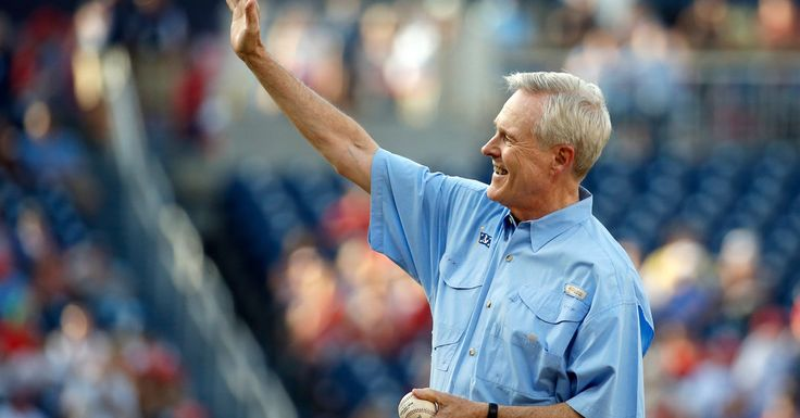 Navy Secretary Ray Mabus Knows a Thing or 30 About First Pitches