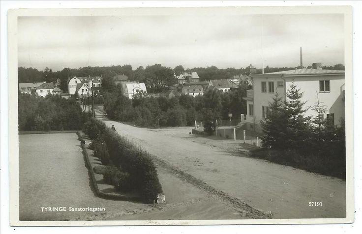 Tyringe Sanatoriegatan Många villor Finja sn Hässleholm Alga 27191 Dat