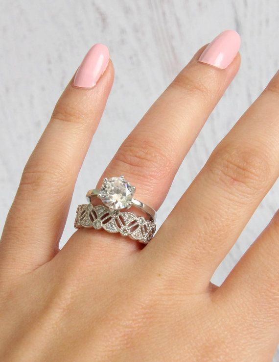 Rethink The Plain Wedding Band Rings Rings Rings