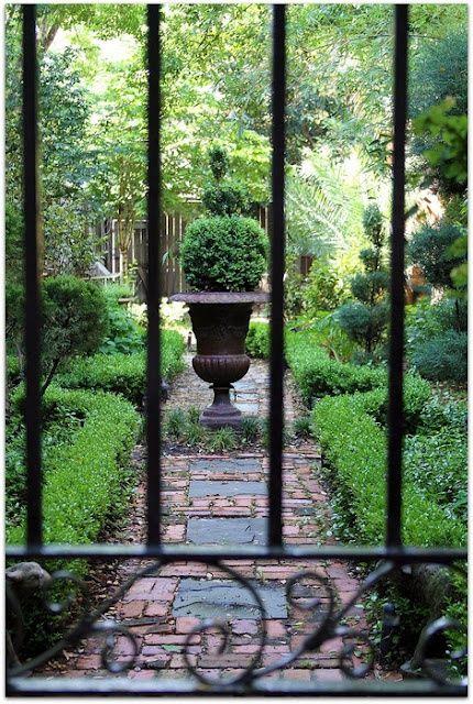 Beautiful ...a peek through the garden gate.