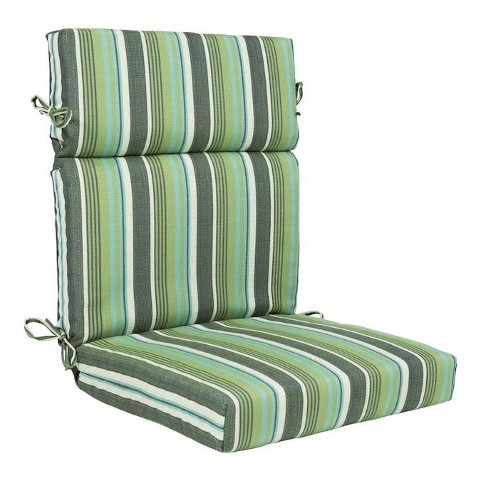 allen roth blue green linen stripe