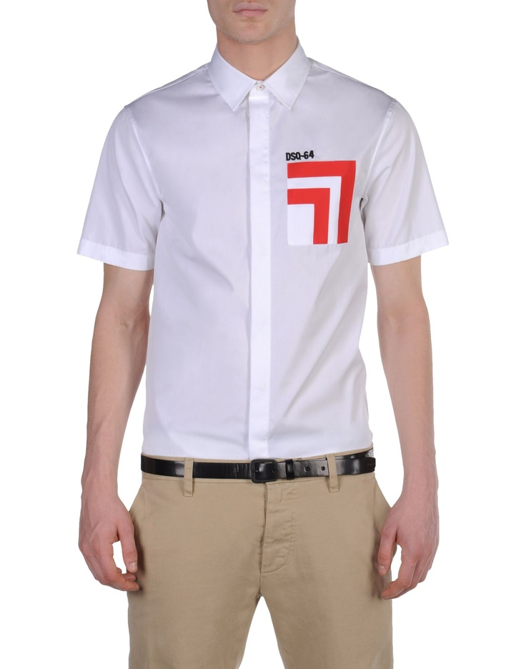 Für Ihn Kurzarmhemd DSQUARED2 - Official Online Store @@NATION@@
