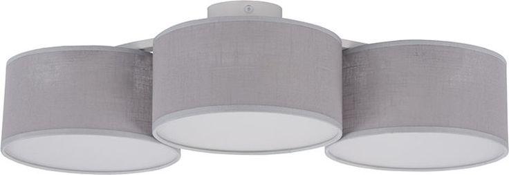 KLIPS szary 3 plafon łuk - lampa sufitowa