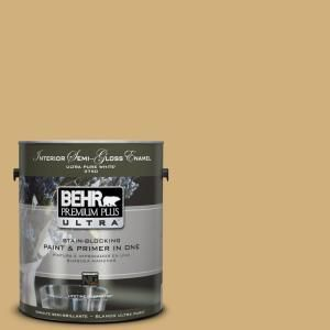 #PPU6 15 Romanesque Gold Semi Gloss Enamel Interior Paint