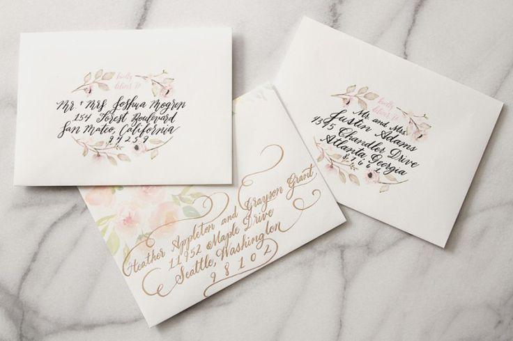 DIY Wedding Calligraphy Tips