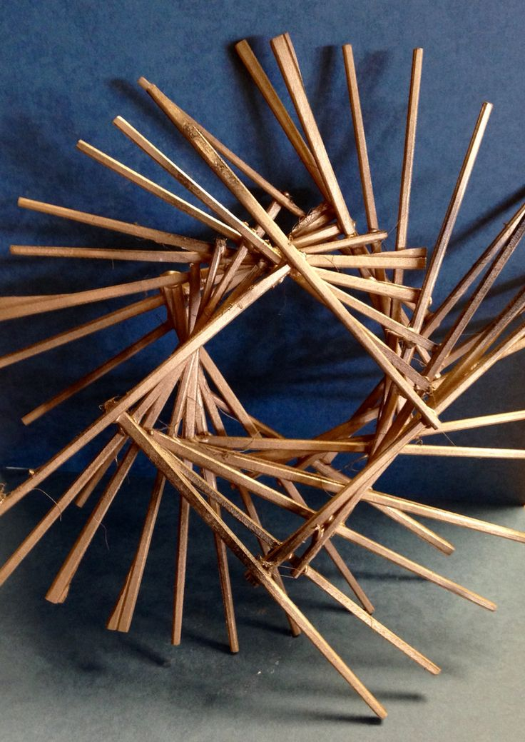 Classroom Design Models ~ D chopstick sculptures nghs room art ideas for