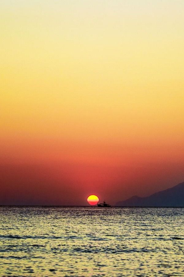 Sunset in Lemnos Island, Greece | ( by George Papavasileiou )