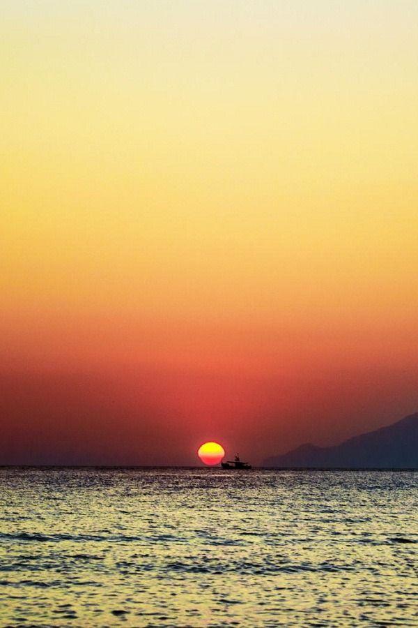 Sunset in Lemnos Island, Greece | ( by George Papavasileiou )