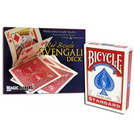 Svengali Deck in Bicycle Red Back (Court Card Force) 12 units MOQ