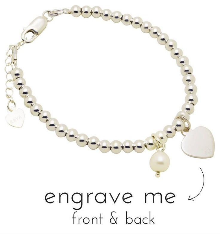 Silver Bracelet With Engraved Charms You Can Engrave A Name On The Charm Free Delivery And Fast Shipment All Over Uk
