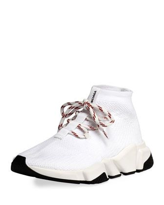 fd0c19c995d2 Speed+Lace-Up+Knit+Trainer+by+Balenciaga+at+Bergdorf+Goodman ...