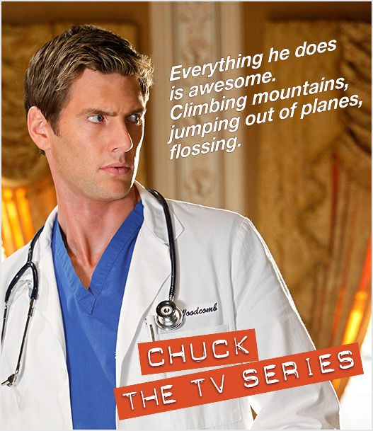 Captain Awesome Skin #ChuckTvShow #Chuck