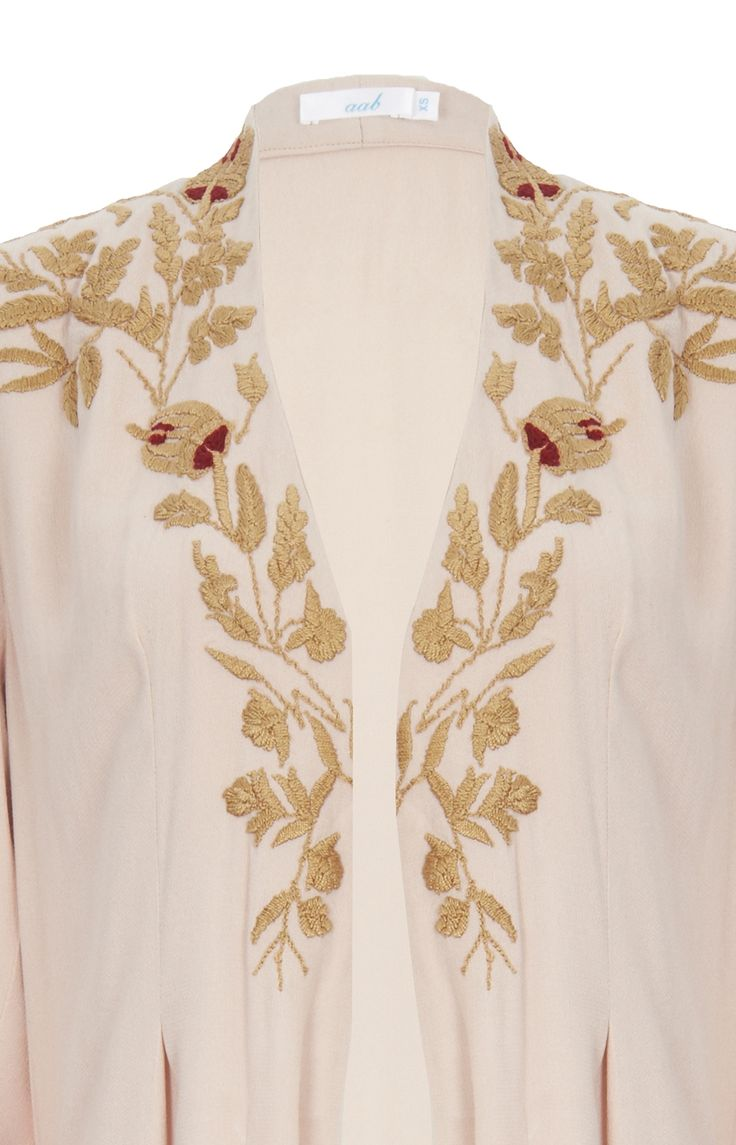 Andalucian Garden Open Jacket - Ivory