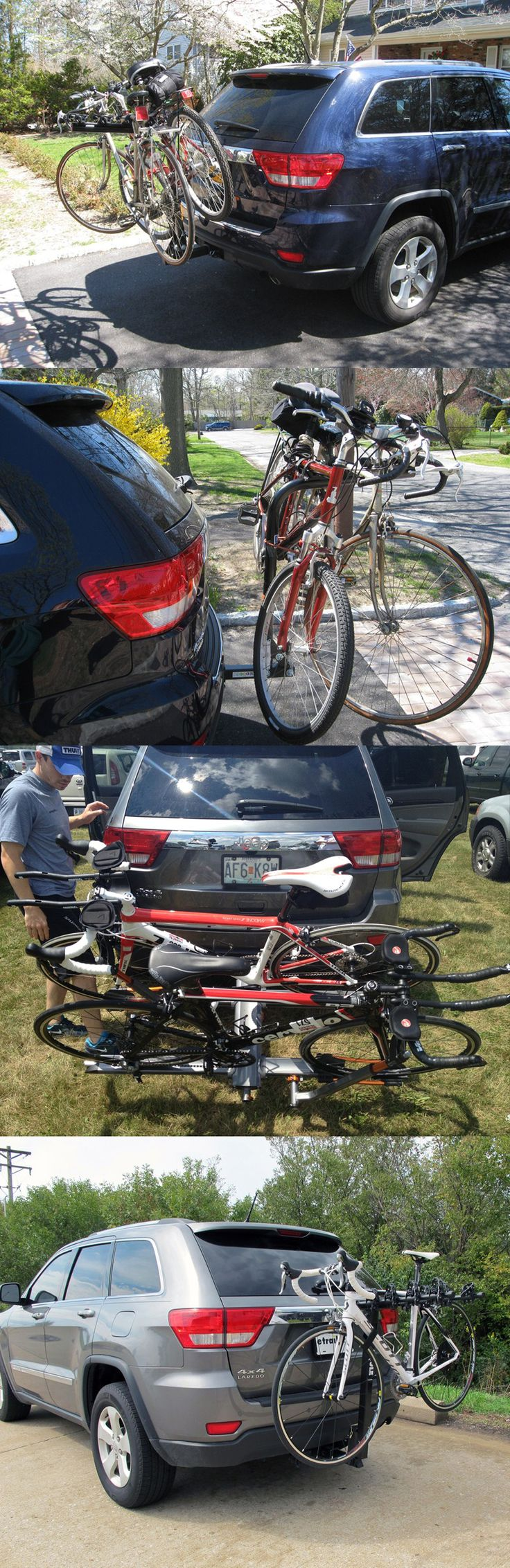 The Top 20 Most Popular bike racks for the Jeep Grand Cherokee based on user reviews and function! See why these accessories are the favorites and chose the best fit for your bike and vehicle! Go and get biking!