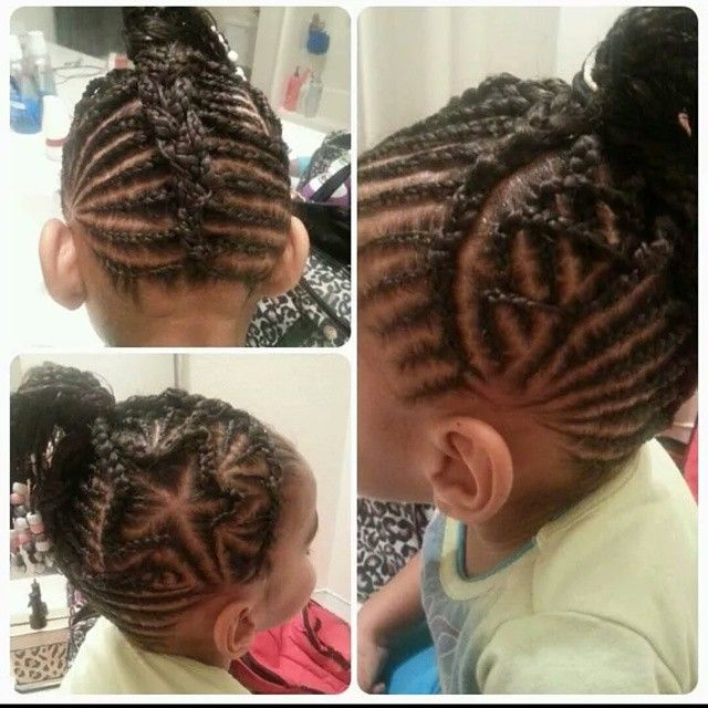 Admirable 1000 Images About Natural Kids Heart Star Braids On Pinterest Hairstyles For Women Draintrainus