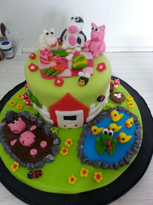 Life on the farm cake