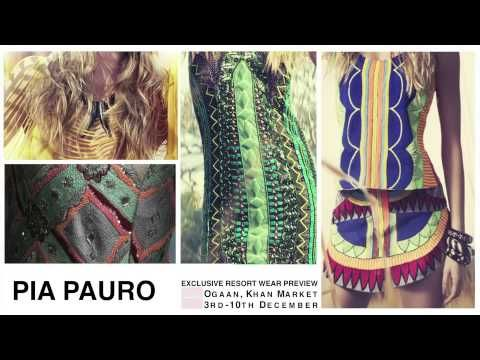 Get set for your next trip to the sun-kissed coasts, in India and around the world. Exclusive preview of the latest PIA Pauro resort wear collection at OGAAN. 3rd to 10th December 2014.  #PiaPauro #fashion #Design #Fashion Design #Delhi #ibiza #Milan #mykonos #beach #resort #summer #dress #kaftaan #bags #india #style #fashionista #stylista
