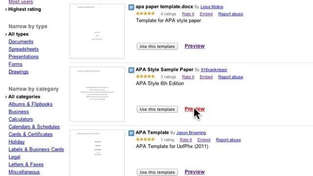 APA Style and Document Collections in Google Docs by Todd Stanfield. A 20 minute tutorial on how to use APA Style templates in Google Docs. I also cover ways to organize your document with collections.