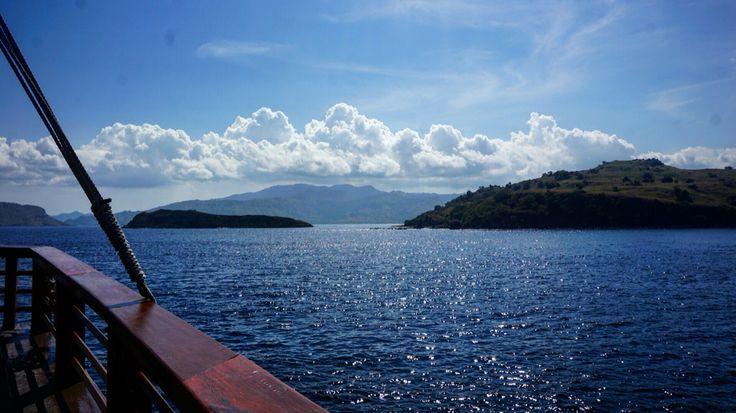 Labuan Bajo  #indonesia #sea #mountain #cruise