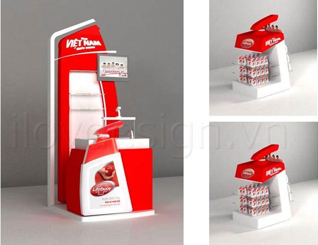 vật phẩm quảng cáo, booth, posm