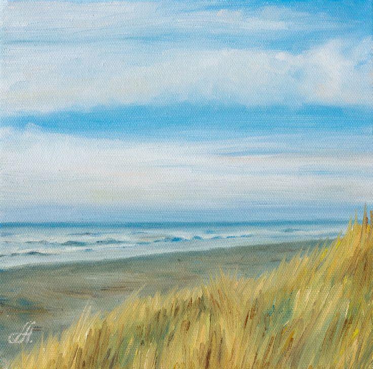 Ocean painting by anna abramskaya