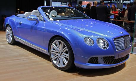 Jaguar Prices | 2014 Bentley car on display at the 113th New York Auto Show ... not sure about the new front of the Bentley..hmm ?