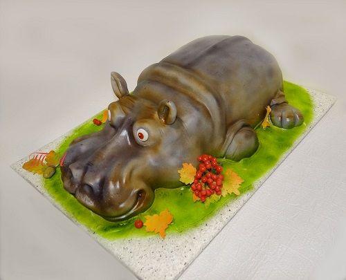 """Торт """"Бегемот"""" от Тигры-Львовны - Торты 3D - Галерея - Семейка"""