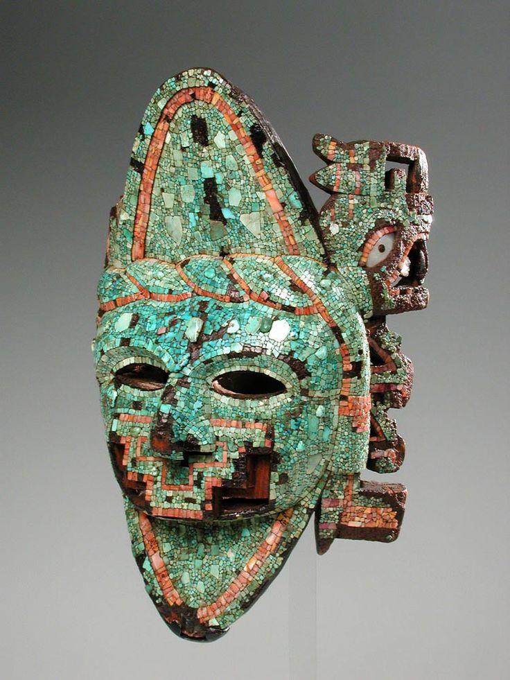 Maschera azteca (sezione Americhe)